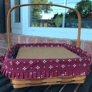 Longaberger 1994 Woven Traditions Pie Basket